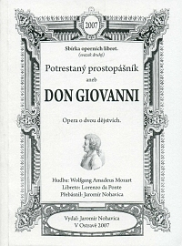 Don Giovanni - libreto