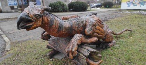 Dřevěné sochy Ostravice
